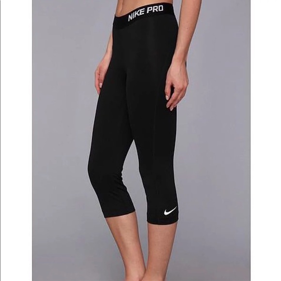 ba92d7aa47d47 Nike Pants | New Pro Cropped Leggings | Poshmark
